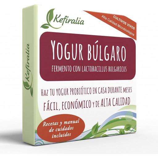 Iogurte Búlgaro, Fermento Tradicional