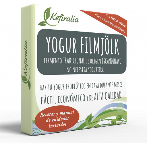 Iogurte Filmjolk, Fermento Tradicional