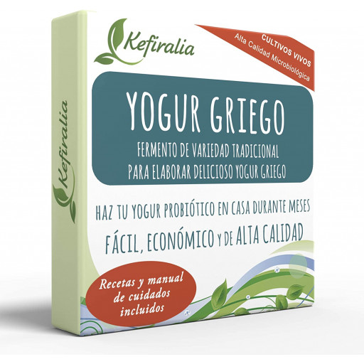 Iogurte Grego, Fermento Tradicional